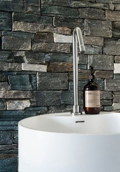 oval natural stone bathtub haven by apaiser | ensuite | pinterest, Hause ideen