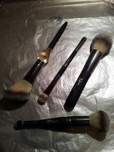 IT COSMETICS - Some of the best brushes you'll ever find.