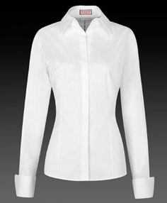 Thomas Pink of London shirt for women. Great fashion staple of high quality fabric and tailoring. Classic White Shirt, Crisp White Shirt, White Button Down Shirt, White Shirts Women, Tailored Shirts, French Cuff Shirts, Black Tie, Workout Shirts, Timeless Fashion