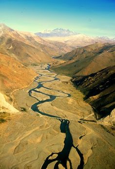 Río Grande. Bardas Blancas. Mendoza