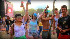 Sziget 2014 - Color Party