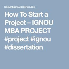 ignou msc dfsm dissertation