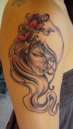 Love Audrey Kawasaki tattoos