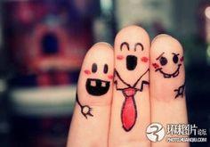 i love finger art