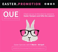 Easter Specials, Line Store, My Life, Design