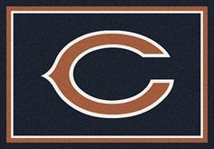 Chicago Bears Team Spirit Rug in Chicago Bears from ACWG