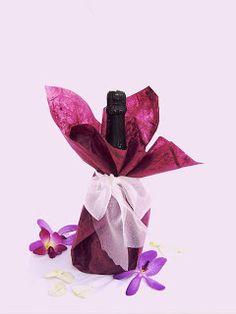 Detalles con Encanto: Botellas de vino para regalo