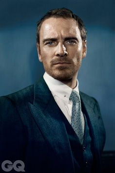 Fassbender can switch from tender to terrify¬ing on the turn of a pin and it's this stealthy gift for creating huge empathy in unexpected places that makes him so magnetic. ~ Olivia Cole (GQ Cover Story)