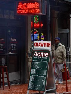 Acme Oyster House - New Orleans -The freshest oysters on the half shell I have ever had!
