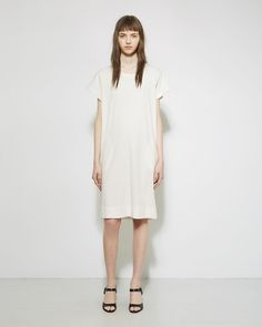 JIL SANDER | Seamed Tee Dress | Shop at La Garçonne