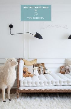 16 of Our Favorite Nurseries! See them on SMP Living: http://www.StyleMePretty.com/living/2014/03/04/the-prettiest-nurseries-ever/