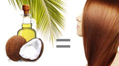 Tame frizz with coconut oil!