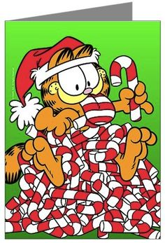 Garfield Christmas Cards