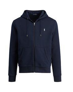0f5aef9d5a2c8 Polo Ralph Lauren - Sweat à capuche zippé tricot double Capuche Zippé