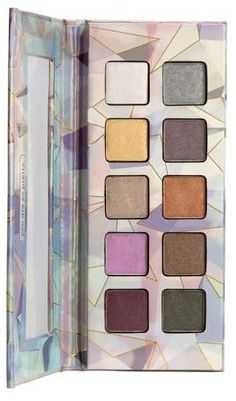 This pallet it so beautiful! And coconut-infused? Yes please!  Pacifica Coconut-Infused Crystal Matrix Mineral Eye Shadow - 0.2oz