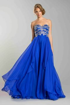 Gorgeous prom gown