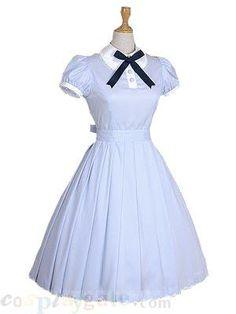 Blue Short Sleeves sweet lolita dress Free Shipping - wholesale Lolita Dresses - wholesale Lolita Clothing - CosplayGate.com