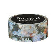 'Flowerfield' Pocket Washi Tape by Masté