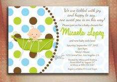 Sample Baby Shower Invites
