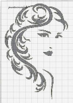 Borduren - Algemeen *Cross Stitch ~Patroon Vrouw~