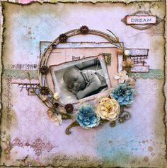 Scrapping Fancy: Blue Fern Studios April Sketch Challenge by Rae Moses