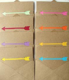stationary!  like arrows