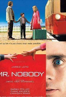 Mr Nobody A tale that spans different time zones of the and centuries. Director: Jaco Van Dormael Writer: Jaco Van Dormael Stars: Jared Leto, Sarah Polley and Diane Kruger Sarah Polley, Mr Nobody, Diane Kruger, Jared Leto, Jaco, Cinema Paradisio, Bon Film, Movies Worth Watching, Matthew Mcconaughey
