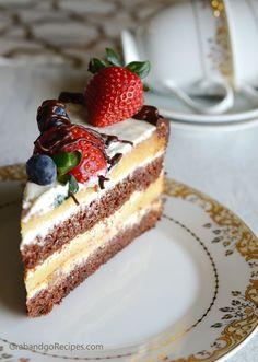 """Smetannik Cake (Торт """"Сметанник"""") - GrabandgoRecipes.com Russian Home Cooking Recipes"""