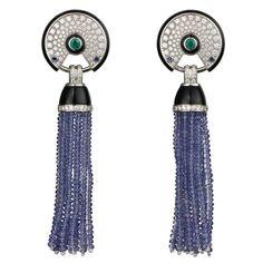 Earrings by Cartier