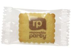 Vanille-Butterkekse bedrucken mit Logo, Kekse mit Logo bestellen und kaufen im Werbeartikel Shop.