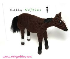 [Rolly Softies] Cavallo amigurumi, schema gratis