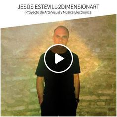 Jesús Estevill is one of Djs more versatile and talented of the Spanish electronic scene and with a great international projection. Electronic Music, Techno, Dj, Scene, Artist, Artwork, Spanish, Painting, Art Projects