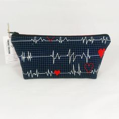 Medical print Toiletry Bag! back in stock great for Doctors or Nurses or for organizing medicine. Get yours at: http://ift.tt/1LMhqo9  #doctor #toiletrybag #medical #etsy #etsyshop #fireboltcreations #firstaid #nurse #traveler #etsyseller #airplane #shoplocal #maker #health #tech #medicine #makeup #christmas #makeupbag #gift #giftideas #gifts #handmade #monday #zipperbag #zipperpouch #heart #hospital #travel #travelgift