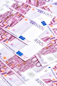 500 Euro bills banknotes by LiliGraphie on @creativemarket