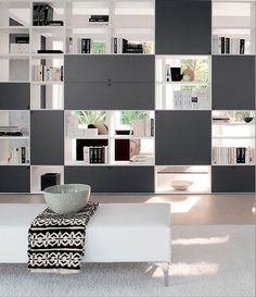 Room Partition Wall, Living Room Partition Design, Living Room Divider, Room Divider Walls, Room Partition Designs, Living Room Decor, Office Interior Design, Office Interiors, Comedor Office
