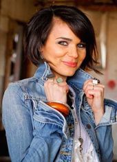 You will love 20 short hairstyles for a round face