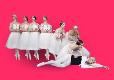 Les Ballets Trockadero de Monte Carlo dancer Alberto Pretto talks dancing en pointe, make up and creating his own dance wear range