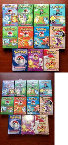 Pok mon Complete Sets 104046: Fatory Sealed Pokemon Starter Decks -> BUY IT NOW ONLY: $400 on eBay!