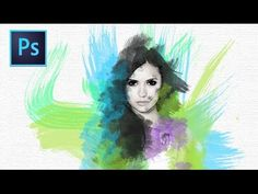 Love this tutorial! Definately can't wait to try out these watercolour effects in Photoshop.