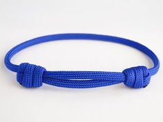 "How to Make a ""Chinese"" Sliding Knot Paracord Friendship Bracelet - YouTube"