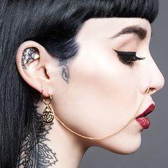 BODHI. Nose Chain