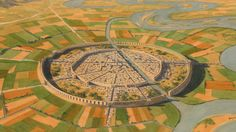 Located on the western bank of the Euphrates, the city of Mari rose to prominence in about 2900 BC. It was important as a stopping or relay point for trade between the Sumerian cities in lower Mesopotamia and the cities in what is today northern Syria. Ancient City, Ancient Near East, Ancient Mysteries, Ancient Egypt, Ancient History, Amenhotep Iii, Ancient Mesopotamia, Ancient Civilizations, Bagdad