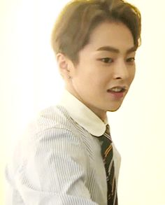just xiumin getting casually undressed (2/2)