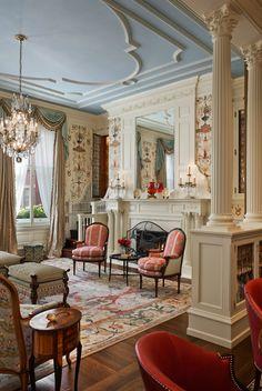 Living Room | The Jayne House | Philadelphia, PA. Eberlein Design