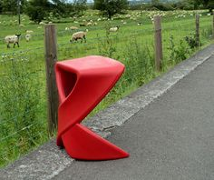 'Ribbon' stool by Nick Rawcliff for Deadgood