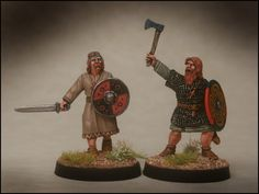 Arcane Scenery and Model Supplies presents DARK AGE IRISH Heroes Scale 2 Irish Heroes, pack contains 2 figures. The Irish made much of individual heroism on the battlefield. Model Supplies, Irish Warrior, Celtic Culture, Viking Age, Dark Ages, Saga, Vikings, Samurai, Medieval