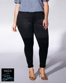 Tess Holliday - Skinny Black Jean
