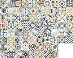 Zementfliesen A Azulejos Pinterest Fliesen Design - Hornbach fliesen sortiment