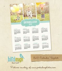 Photoshop templates for photographers by birdesign Photo Calendar, 2019 Calendar, Scrapbook Page Layouts, Scrapbook Pages, Foto Iman, Bird Design, Graphic Design Inspiration, Banner Design, Diy And Crafts