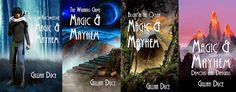 Four books; Magic and Mayhem series (M & M)